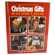Leisure Arts Christmas Gifts in Plastic Canvas Hardcover Book 60 Projects
