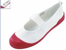 Japanese School Uniform Soft Uwabaki Shoes Sports Gym Indoor Cosplay Shoes Flat