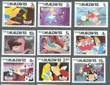 Alice in Wonderland-Disney-set-Fairytales-mnh -maldives