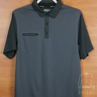 Nike Golf Innovation Polo Tour Performance Dri Fit Gray Shirt Sz S Rory Mcilroy