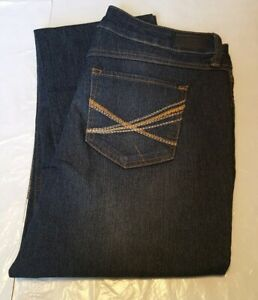 NEW Natural Reflections Women's Straight Leg Jeans Size 4 Average