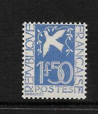 France 1934 1fr50c blue PEACE  vf  Mint hinged SG 519 CV £70