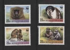 Monkeys Guinean Stamps