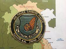 Patch - Air Police Carbine Match , Yokota Air Base, Japan , PACIFIC AIR FORCE
