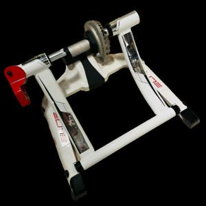INDOOR CYCLE TRAINER - Elite Qubo Fluid Indoor Cycle At Home Road Bike Trainer