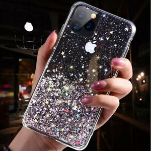 Bling Glitter Case For iPhone 11 PRO MAX /  XR XS MAX Clear Gel Soft Phone cover