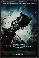 2008 THE DARK KNIGHT original studio movie poster ver B double-sided rolled