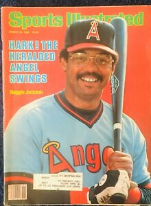 3.15.1982 REGGIE JACKSON Sports Illustrated California Angels HALL OF FAME