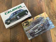 FUJIMI Toyota Celsior + Fujimi R32 Nissan Skyline GTR 1:24