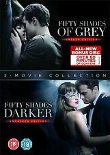 Fifty Shades of Grey and Darker 2 Movie Collection DVD BOXSET