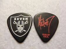 GUITAR PICK   Mick Thomson - Slipknot tour issue guitar pick RARE Raiders No Lot