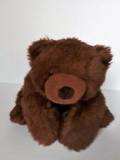 """Russ Grreat Grizzly 17"""" Plush Grizzly Bear"""