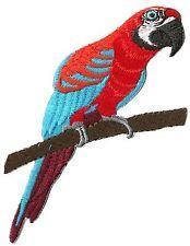 Patch Wappen Flicken Papagei Zum Aufbügeln Aufnäher Patch Bestickt