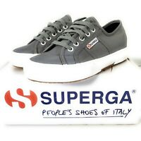 Superga Junior Trainers Size 3.5 UK Classic Pumps 2750 Nylon Sneakers Shoes EU36
