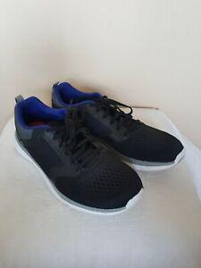 Reebok Memory Tech Men's Size 9.5 Black Running Shoes Sneakers (I