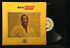 Dollar Brand-This Is-Black Lion 30139-ENGLAND ABDULLAH IBRAHIM