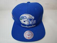 a6141e581dfa3f Seattle Seahawks Mitchell & Ness adjustable Snapback hat Vintage NFL