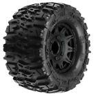 Pro-Line 1170-10 Trencher 2.8 All Terrain Tire Mounted on Raid Black Wheels