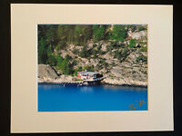 11 X 14 Photo in matted - signed by photographer Marie Whitton - Norway Oslo