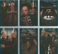 "Babylon 5 Season 5 - ""One Exit At A Time"" 6 Card Chase / Insert Set #E1-6"