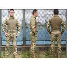 EMERSON COMBAT TACTICAL SUIT A-T FG WATER SHIELD ATACS FG Tg L SOFTAIR AIRSOFT
