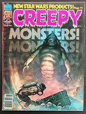 CREEPY WARREN 1978 #97 VF-- SWEET BOOK FRAZETTA SEA SLUG COVER! DRAGONS,ZOMBIES