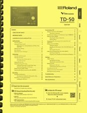 Roland TD-50 Electronic V-Drum Module 3-in-1 Owner's Manual