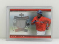 2007 Upper Deck Manny Ramirez Game Materials Game Worn Jersey Insert RED SOX