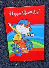 Nuevo Bicicleta de Niños Feliz Cumpleaños Tarjeta De Saludos