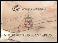 Pruebas de España Carnet Real Rey Juan Carlos I 1998 nº 64A/64D S.M el Rey