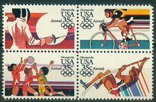 USA 1665 - 1668 - Viererblock -  , ** , Olympische Spiele 1984
