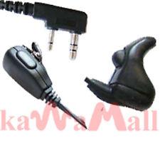 Ear Vibration  Speaker Mic KENWOOD Two Radio TK KEBD
