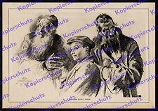 Schwormstädt Ostfront Rajgród Grajewo Juden Hebräer Kriegsmaler Völkerkunde 1915