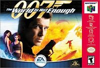 007 The World Is Not Enough Nintendo 64 N64 Video Game James Bond Retro FPS