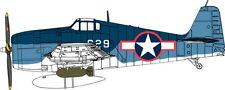 Cyber-Hobby Grumman F6F-3 Hellcat échelle 1:72 en plastique KIT-5060