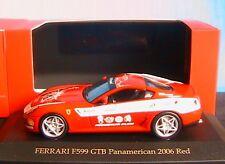 FERRARI F599 GTB PANAMERICAN 20000 2006 RED IXO SPORT FER073 1/43 AUTOMOBILE