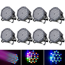 8PCS 72W 36 LED RGB Stage Lighting PAR Light Beam DMX Party Disco DJ Lights