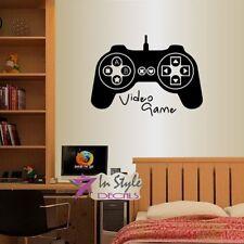 Vinyl Decal Video Games Controller Gaming Gamer Teen Boys Room Wall Sticker 1305