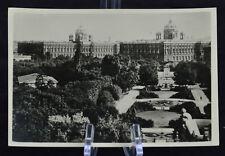 Postcard Wien Kunsthistorisches und Naturhistorisches Museum Austria BW RPPC