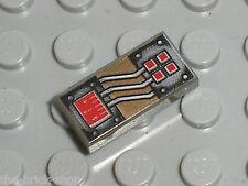 LEGO OldDkGray tile 3069bpa2 / Set 6198 6160 6199 7166 5382 6107 6740 ...