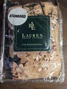 NEW RALPH LAUREN HOME BUCKS COUNTY FLORAL STANDARD SHAM Pillowcase