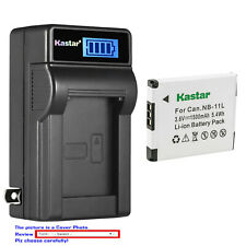Kastar Battery LCD Wall Charger for Canon NB-11L Canon IXUS 265 HS IXUS 275 HS