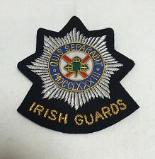 Irish Guards Blazer Badge, Wire, Army, Jacket, Military, Uniform, Framing
