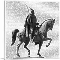 Skanderbeg Monument - George Castriot Albania National Anthem Canvas Art Print