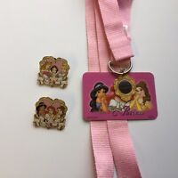 WDW - Lanyard Starter Set - Disney PINcess Disney Pin 37656