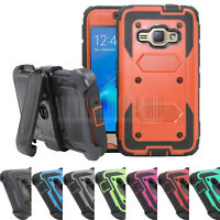 Shockproof Hybrid Hard Case Stand Cover Holster For Samsung Galaxy J1 2016/Amp 2