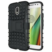 High Quality Motorola Moto E3 Power Shockproof Armor Defender & stand cover case