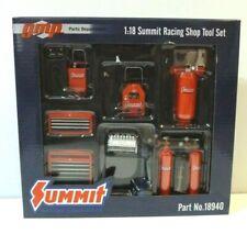 Summit Racing Equipment Shop Tool Set Of 7 Pcs 1/18 Diecast Models Gmp 18940