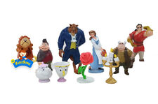 Disney BEAUTY & THE BEAST Cake Toppers / 10 Figures