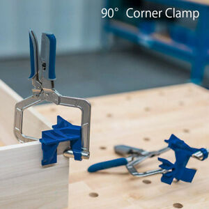 90° Right Angle Clamps Corner Clamp Tools For Carpenter Wood-working UK
